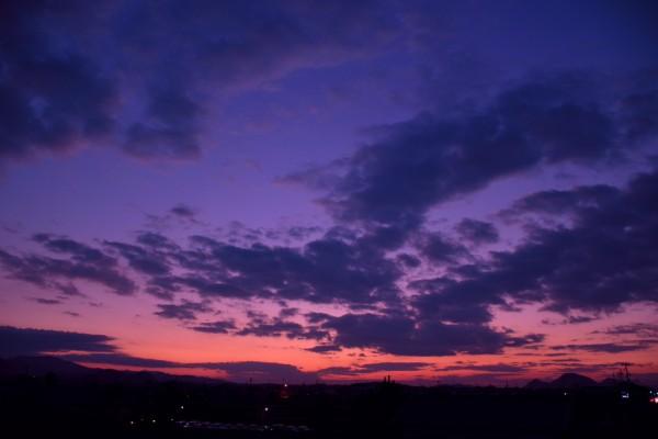神秘的な夕焼け2