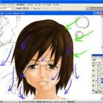 【女性イラストの塗り方】うまく描くには光源と3つのコツ!フォトショで描き方講座