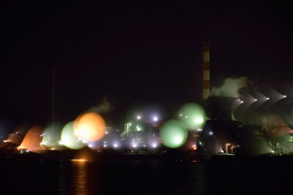 工場夜景ボヤケ3