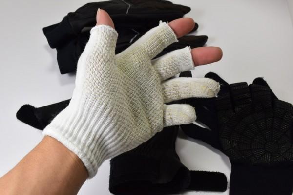 指抜き手袋