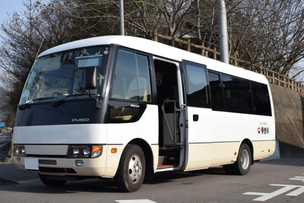 琴参閣 送迎バス