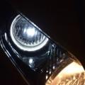 夜のLEDポジション点灯
