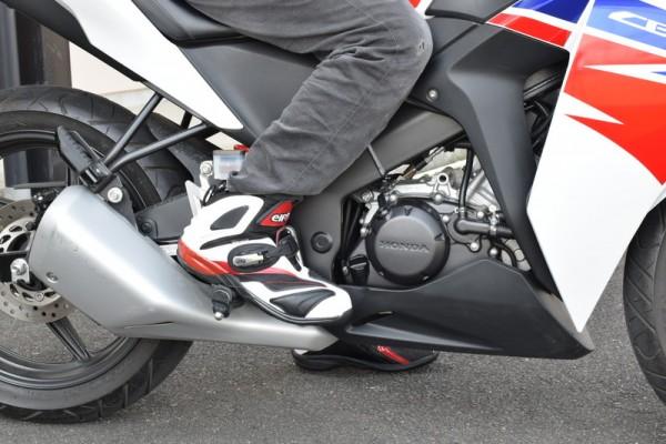 シンテーゼ14装着 バイク