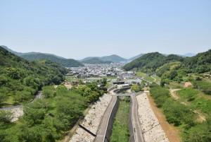 小豆島を眺める