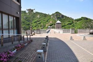 吉田ダム堤頂