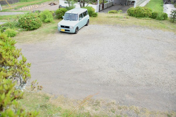 五風十雨の駐車場