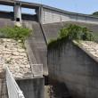 粟地ダム下
