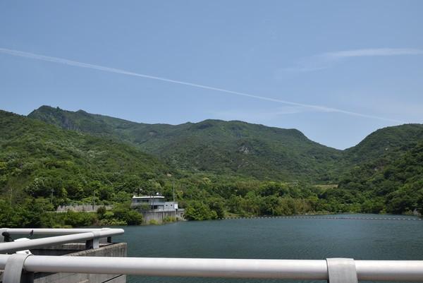 粟地ダムと寒霞渓2