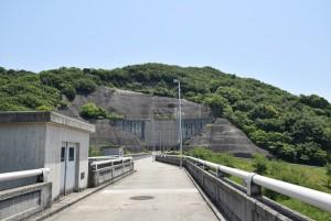 粟地ダム堤頂3