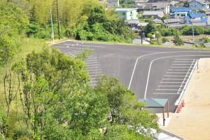 内海ダム駐車場
