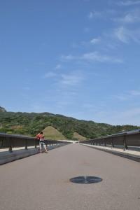 内海ダム堤頂部分2