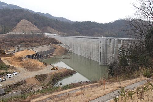 内海ダム(旧)