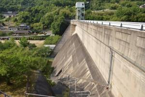 殿川ダム堤体2