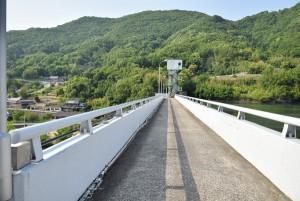 殿川ダム堤頂