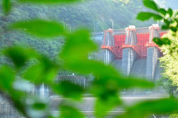 新宮ダム ゲート