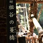 徳島県「祖谷(いや)のかずら橋」3種ツーリング!大きさの違いと駐車場、入場料金を紹介