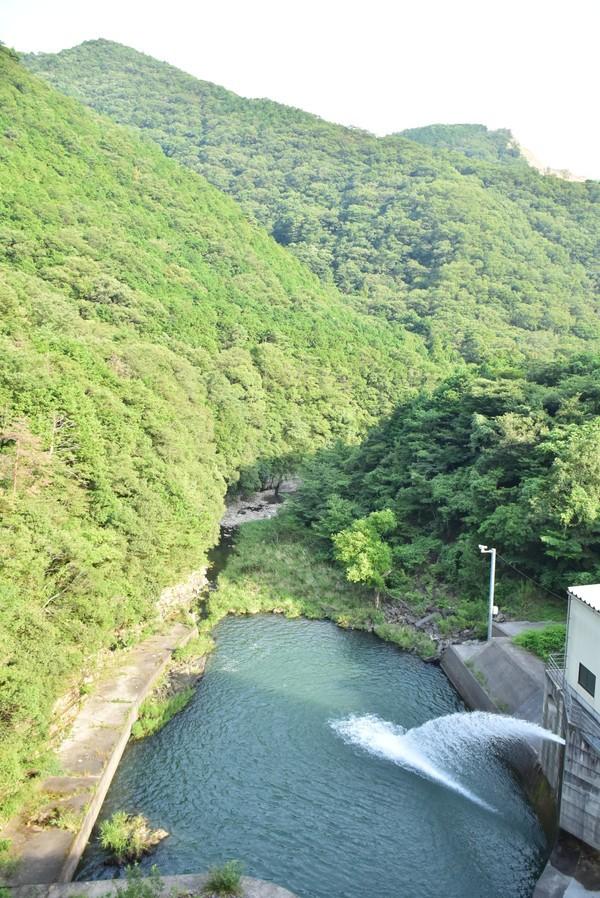 宮川内ダム ダム下