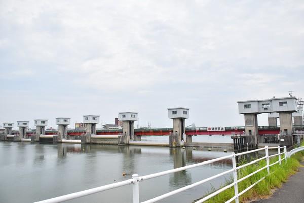今切川河口堰 ダムカード