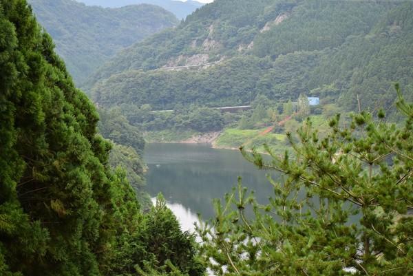 正木ダム湖