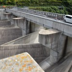 【ダムカード岡山県】苫田ダム!デザイナーズダムのような形でかっこよすぎるダム