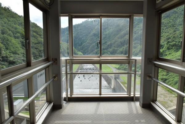 苫田ダム 展望