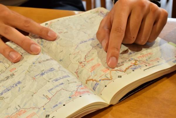 ダム巡り 地図