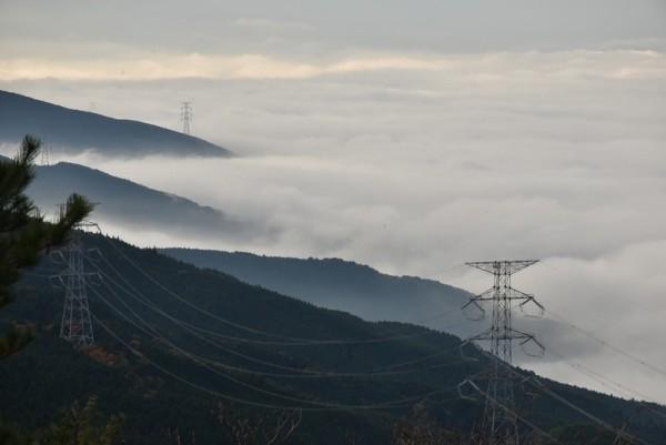 翠波高原 雲海