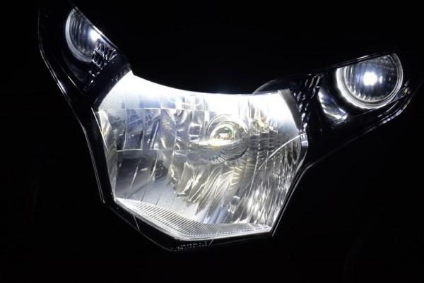 CBR125R LEDヘッドライト