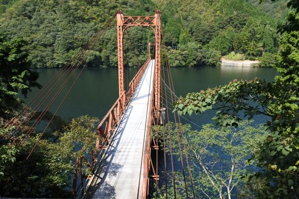 銅山川 金砂湖 翠波橋