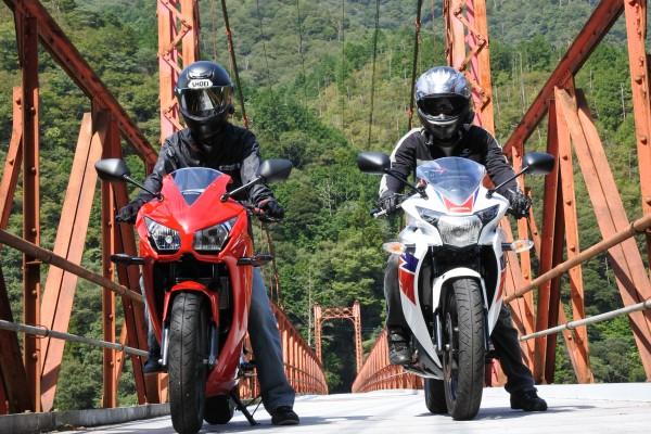 バイクツーリング 金砂湖