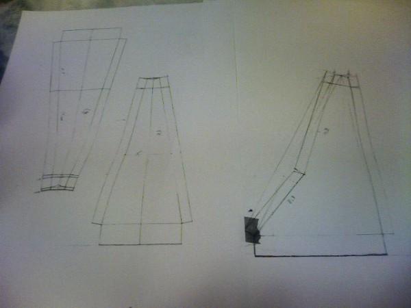 シフトブーツ 型枠