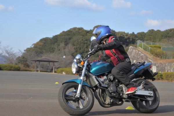 バイク練習 バイクが好き