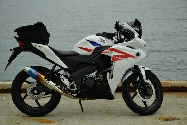 CBR125R バイク ジムカーナ ツーリング 海
