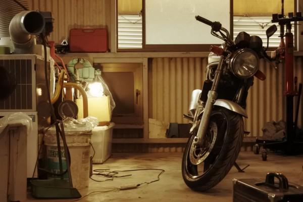 250cc VTR250 整備