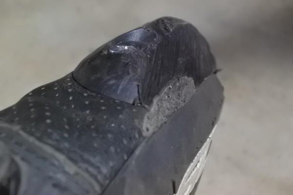 レーシングブーツ 擦れる バンク ジムカーナ
