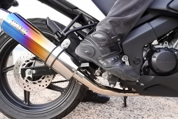 バイク CBR125R ブレーキ