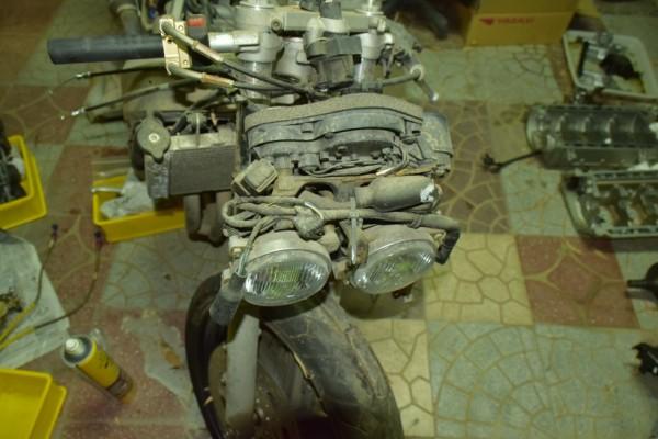 CBR400RR ホンダ レストア