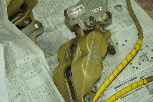 CBR400RR ホンダ レストア ブレーキ
