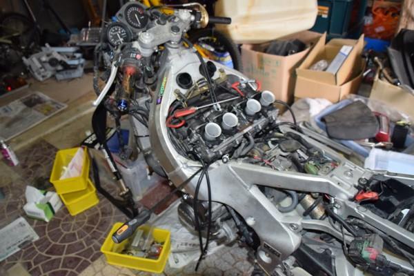 CBR400RR ホンダ レストア キャブ オーバーホール