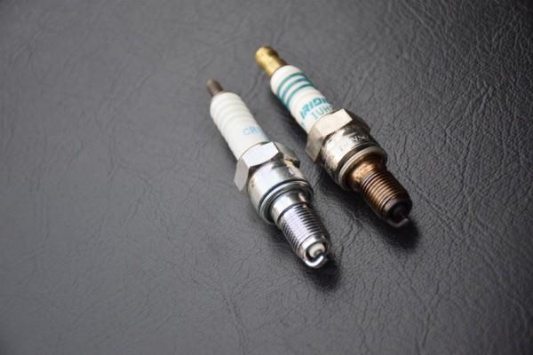 CBR400RR ホンダ レストア プラグ交換 イリジウム
