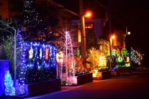 オレンジタウン クリスマス イルミネーション 自宅