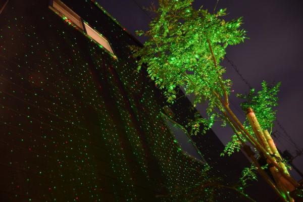 ガーデンレーザーライト イルミネーション クリスマス
