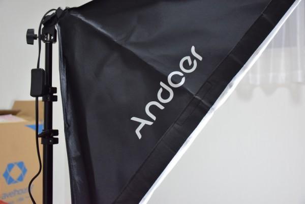 Andoer 照明 アマゾン 小物撮影