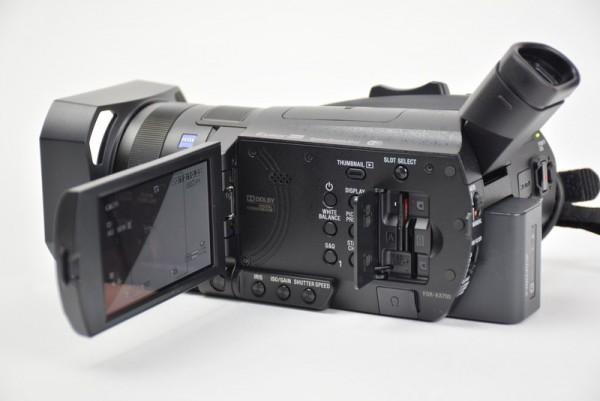 AX700 ハンディカム ビデオカメラ