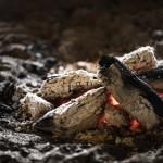 バーベキューのトラブル【火起こし】注意点と対策!~火の粉が目に入ったら~
