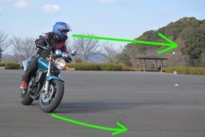 バイク目線
