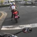交通事故 多段階停止