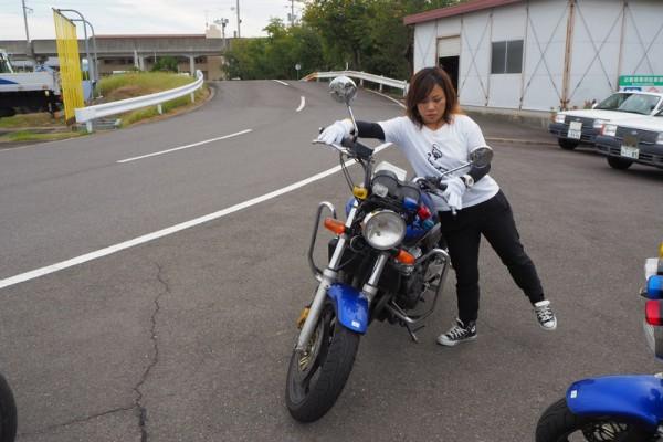 教習車 二輪 バイクcb400