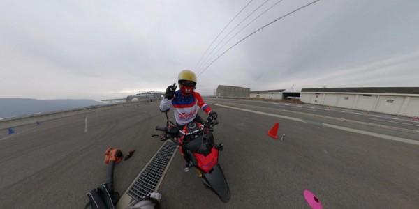 バイク 3360度カメラ アングル