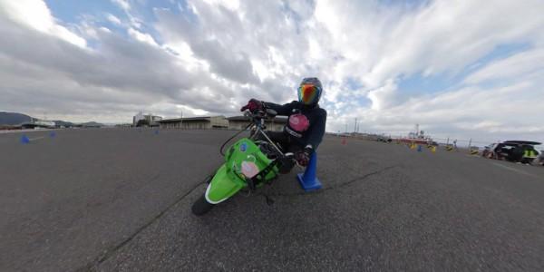 バイク 360度カメラ アングル